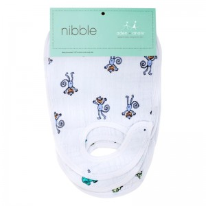 Aden & Anais Jungle Jam Snap Baby Bibs