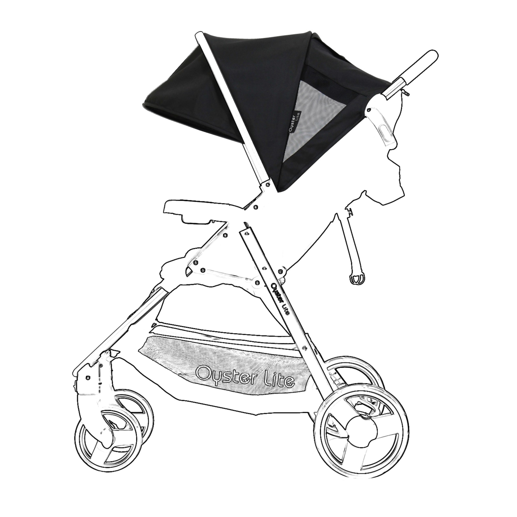 BabyStyle Oyster Lite Colour Pack