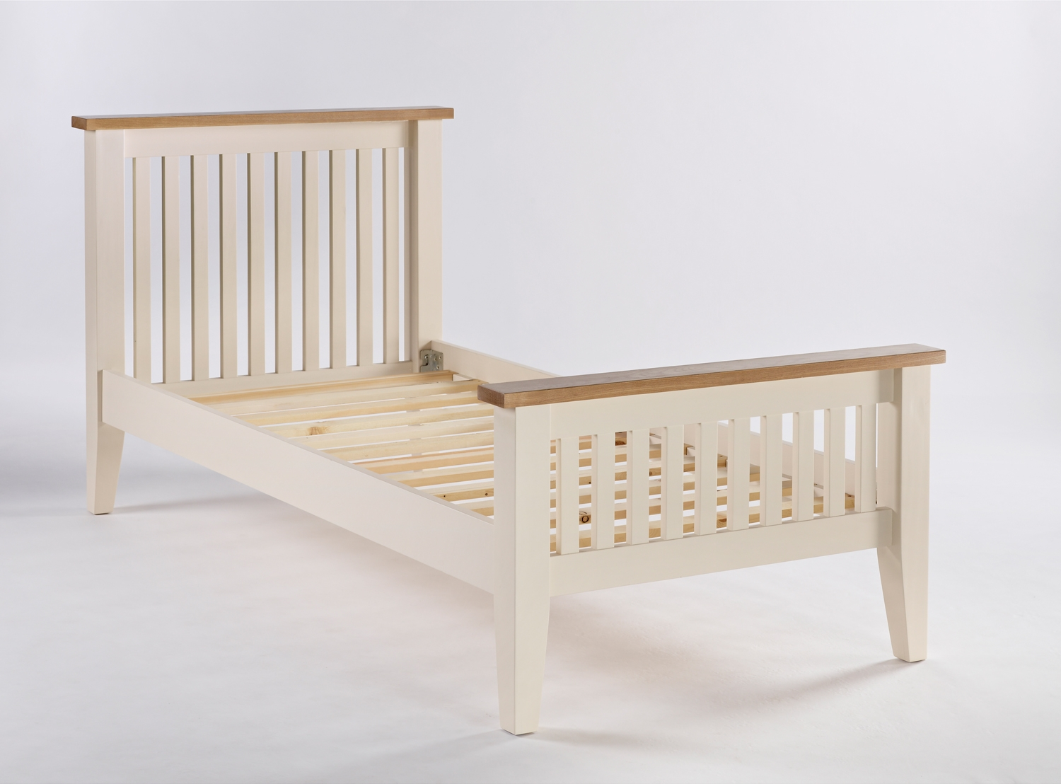 Camden Painted Pine & Ash Single Bed