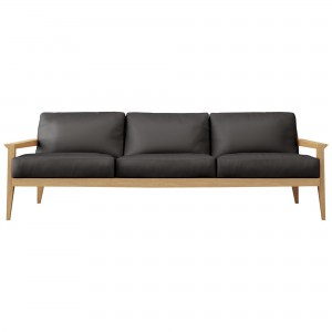 Case Stanley Large Leather Sofa