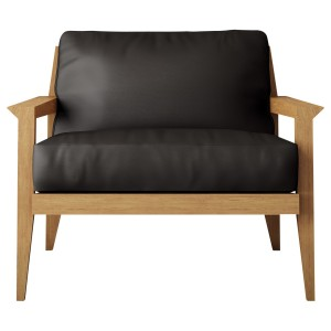 Case Stanley Leather Armchair