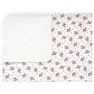 Cath Kidston Hankie Rose Pram Blanket