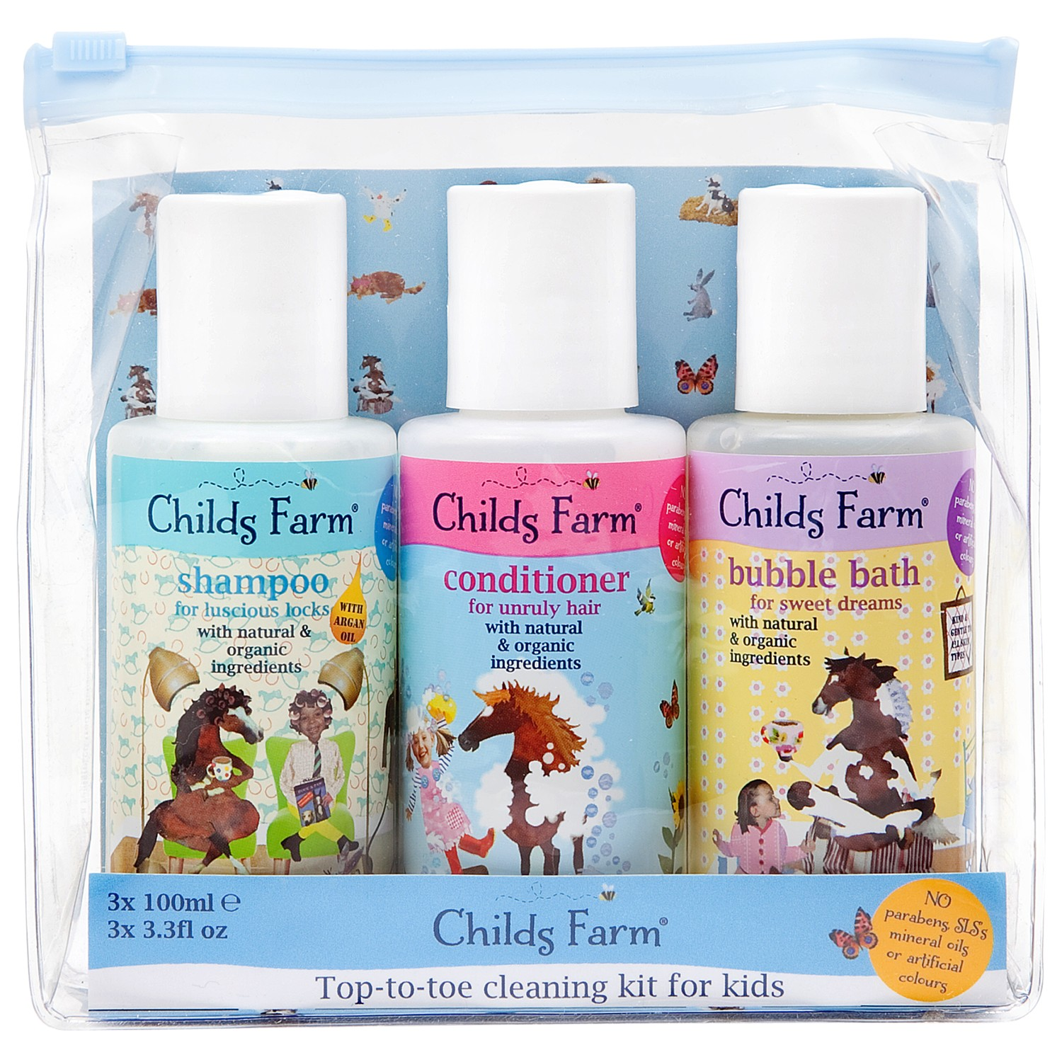 Childs Farm Top To Toe Cleaning Kit for Kids