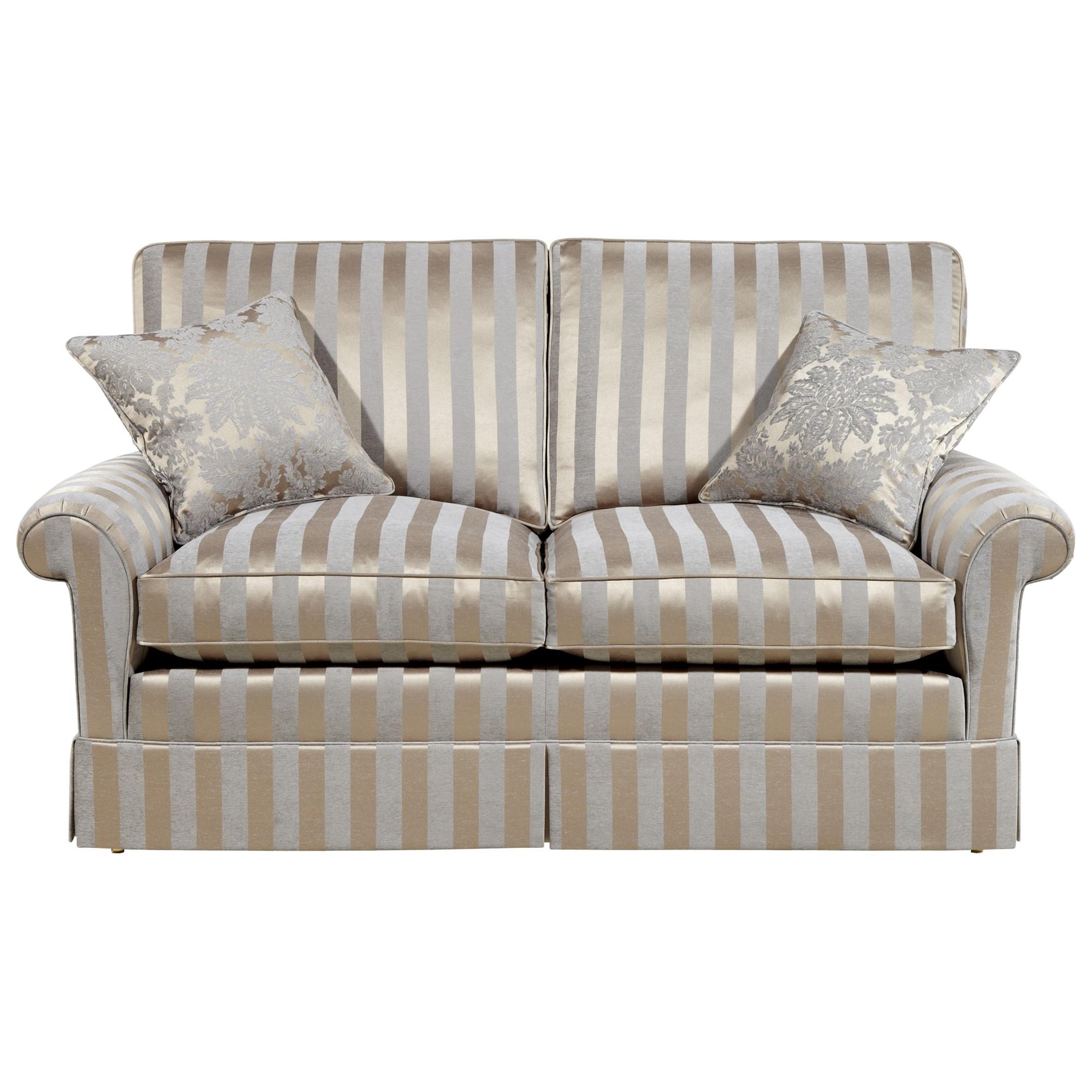 Duresta Woburn Large Sofa Oscar Silver Stripe Review