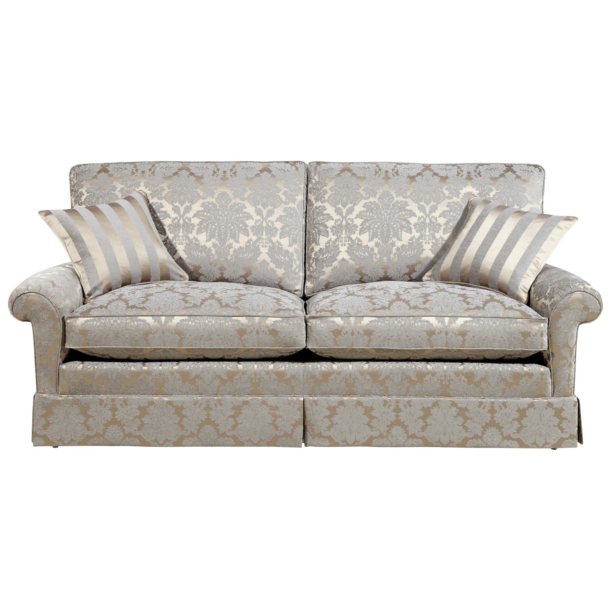 Duresta Woburn Large Sofa Oscar Silver By John Lewis