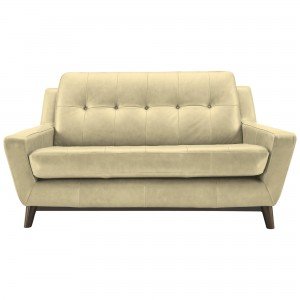 G Plan Vintage The Fifty Three Small Leather Sofa