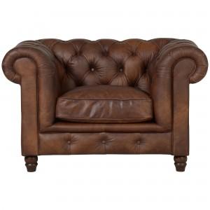 Halo Earle Aniline Leather Armchair