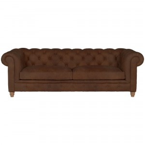 Halo Earle Aniline Leather Grand Sofa