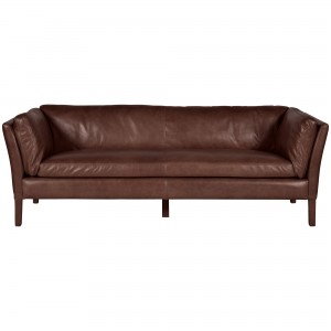 Halo Groucho Large Aniline Leather Sofa
