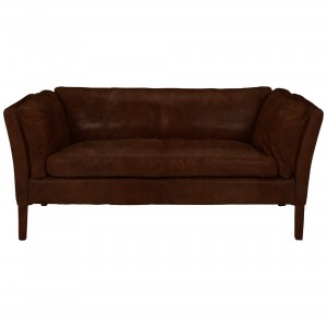 Halo Groucho Small Leather Sofa