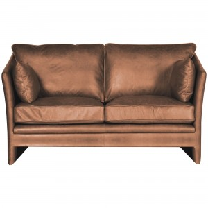 Halo Harpo Small Aniline Leather Sofa