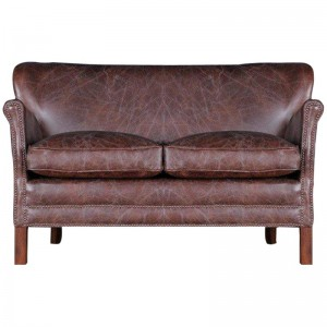 Halo Little Professor Small Aniline Leather Sofa
