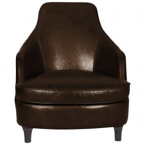 Halo Sebastian Aniline Leather Armchair