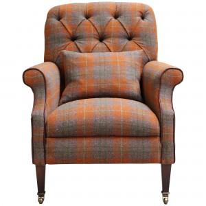Harris Tweed Country Armchair