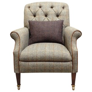 Harris Tweed Flynn Armchair