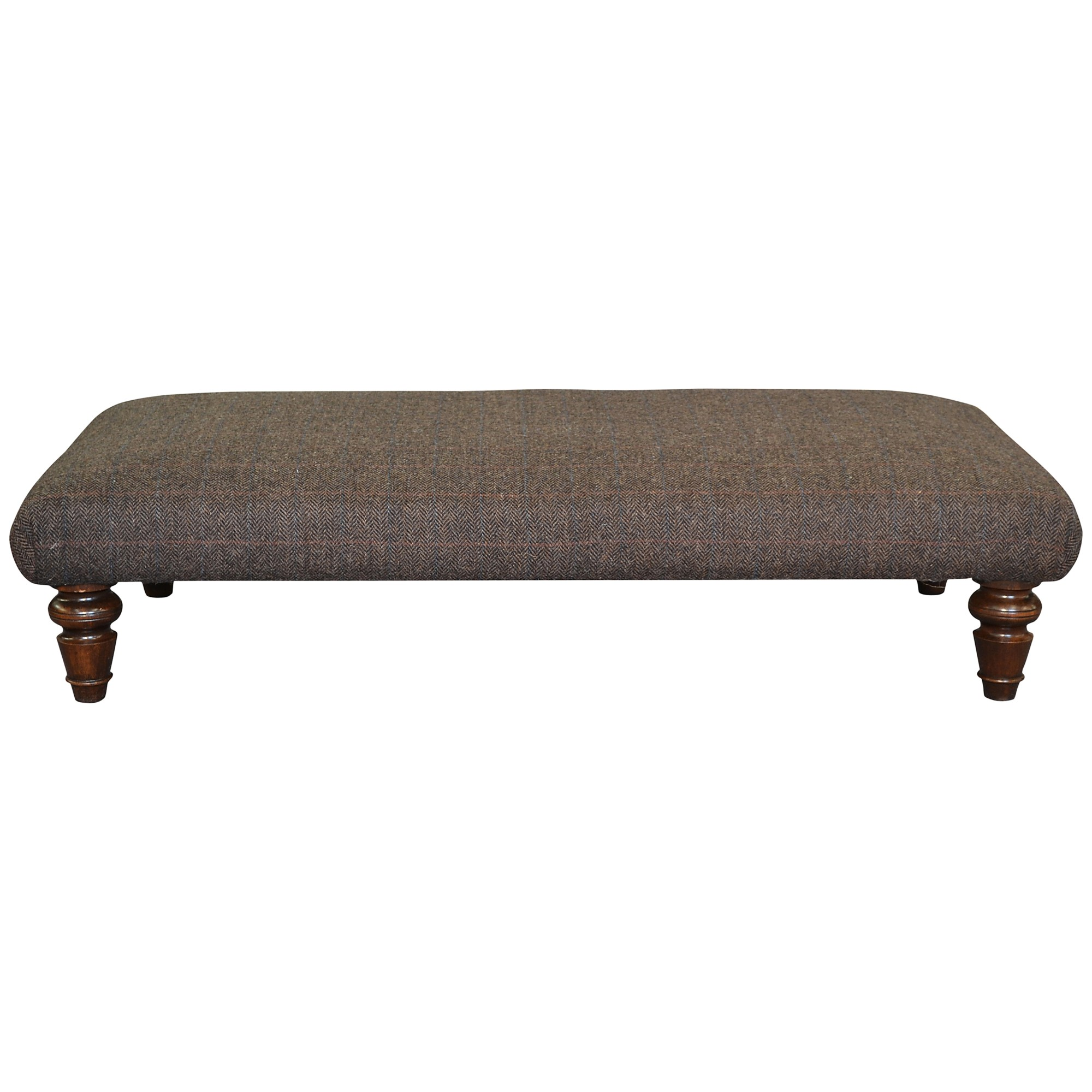 Harris Tweed Lewis Footstool