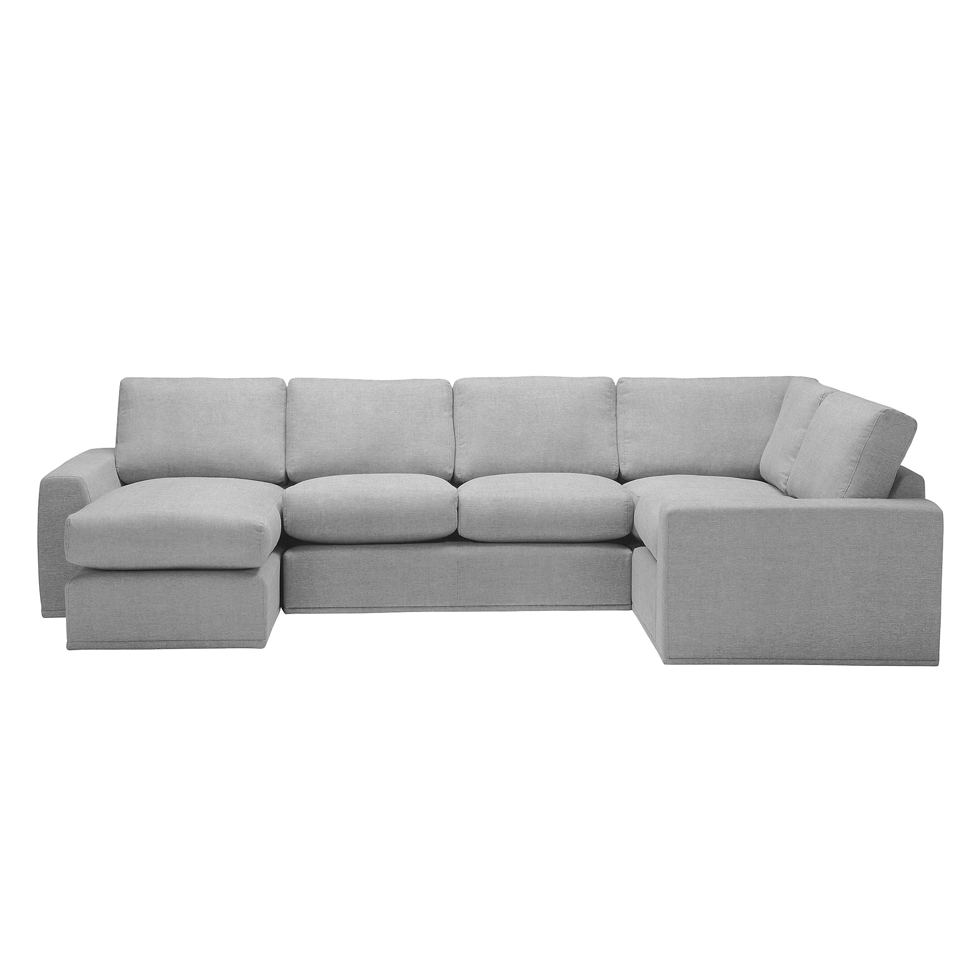House by john lewis finlay ii lhf rhf modular corner for Chaise end sofas