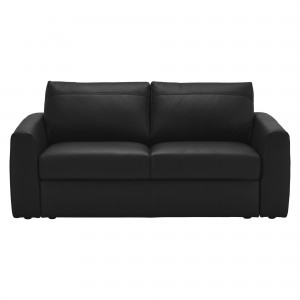 House by John Lewis Finlay II Medium Leather Sofa