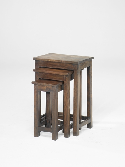 Jali Chunky Nest of 3 Tables