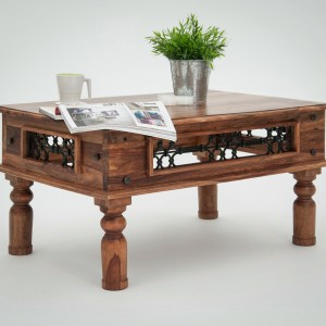 Jali Coffee Table - Various Sizes  (Jali Coffee Table 2 - 90 x 60 x 46cm)