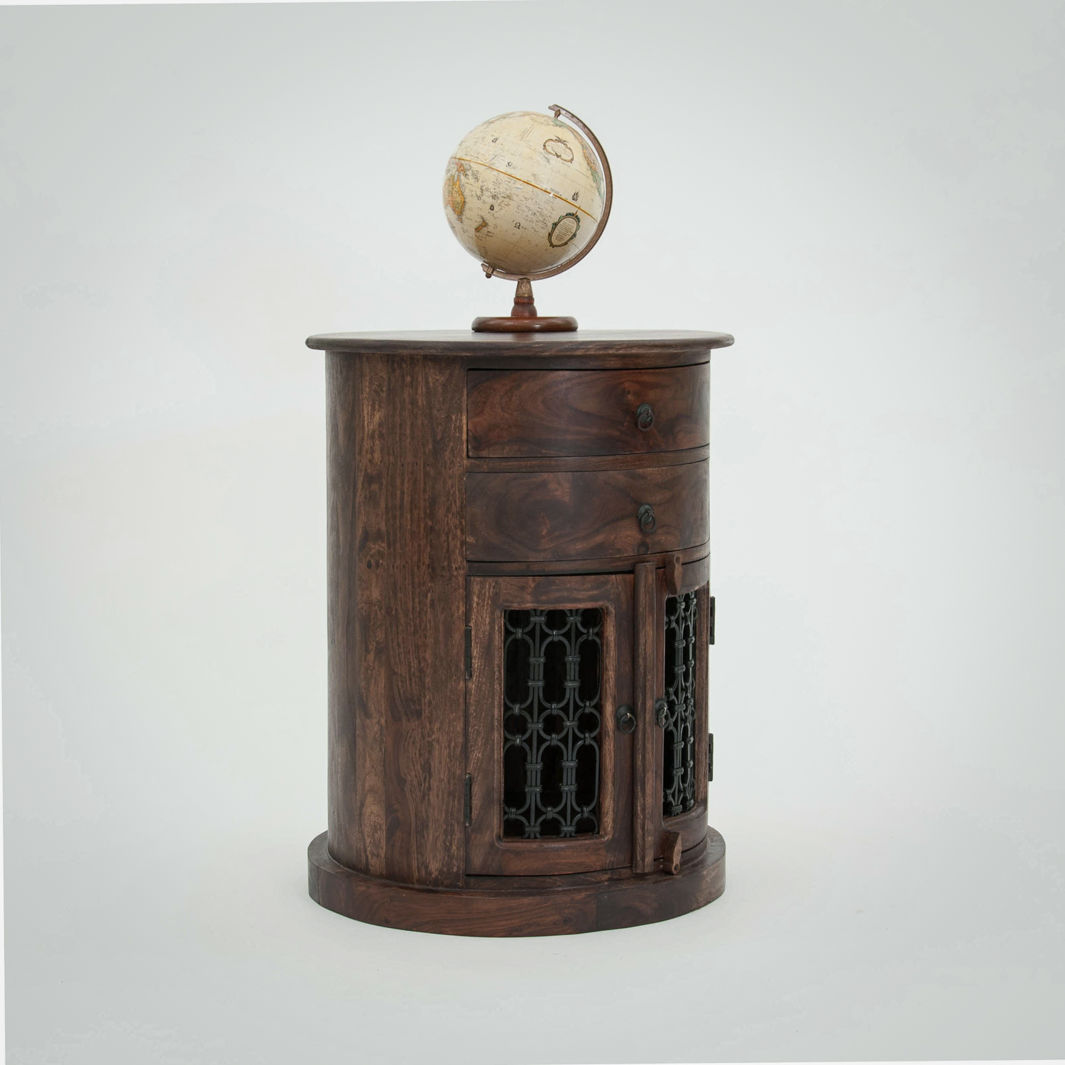 Jali Oval Drum Chest