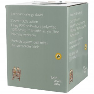 John Lewis Anti Allergy Cot Duvet