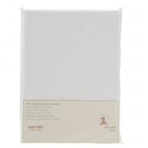 John Lewis Anti-Allergy Large Cotbed Mattress Protector
