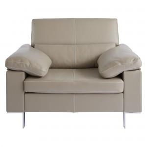 John Lewis Baccara Semi-Aniline Leather Armchair
