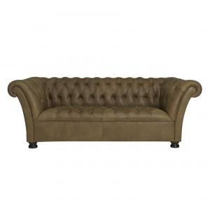 John Lewis Cambridge Medium Leather Sofa
