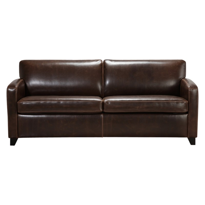 John Lewis Colby Large PU Leather Sofa