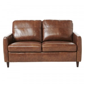 John Lewis Dalston Semi-Aniline Leather Small Sofa