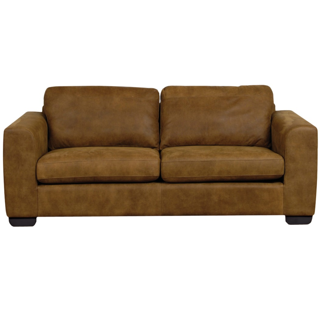 john lewis felix large semi aniline leather sofa ashanti. Black Bedroom Furniture Sets. Home Design Ideas