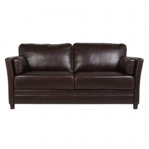 John Lewis Hamilton Large Leather Sofa