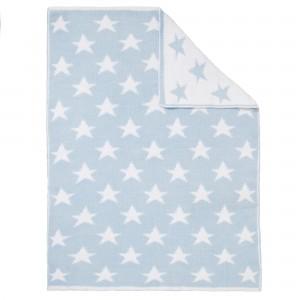 John Lewis Knitted Star Pram Baby Blanket