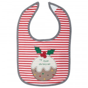 John Lewis 'My First Christmas' Bib