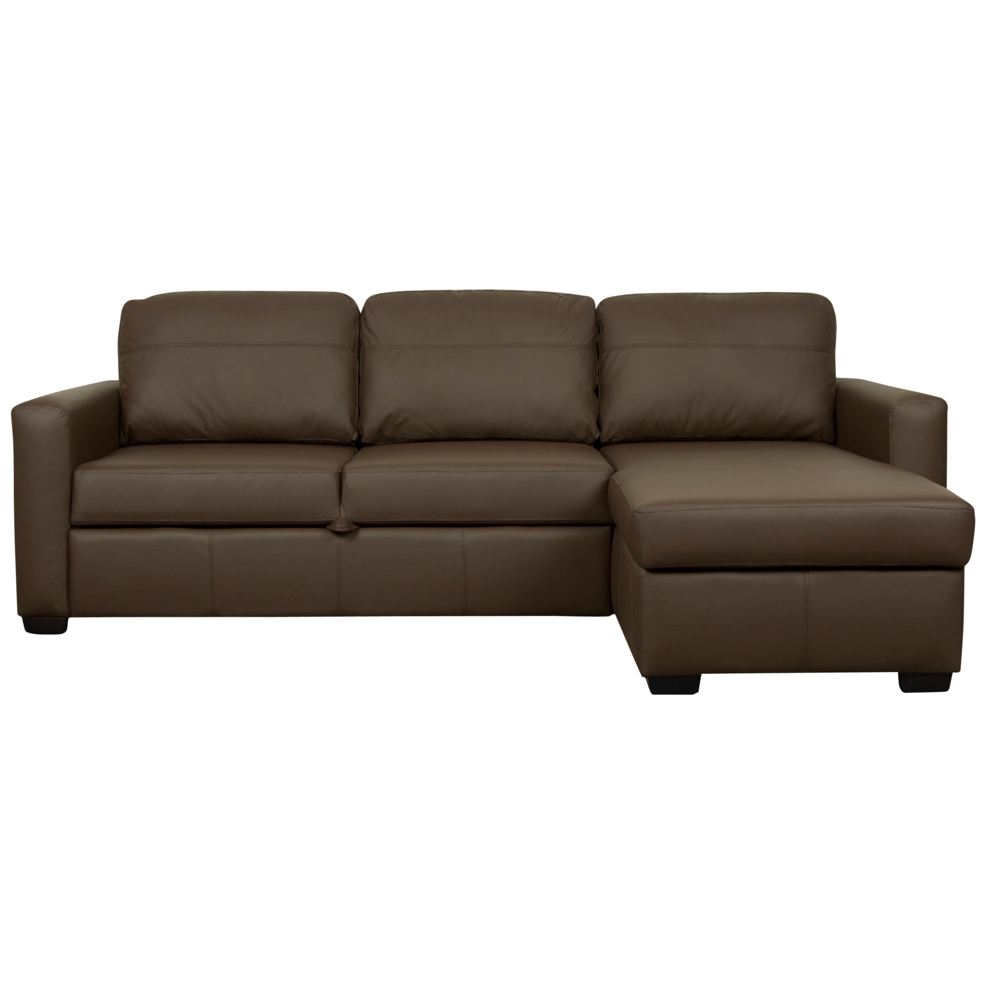 John Lewis Sacha Grand Leather Sofa Bed
