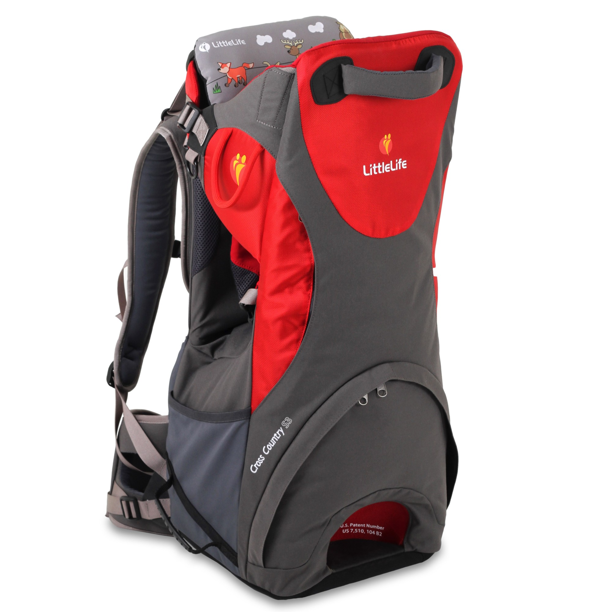 LittleLife Cross Country S3 Baby Back Carrier