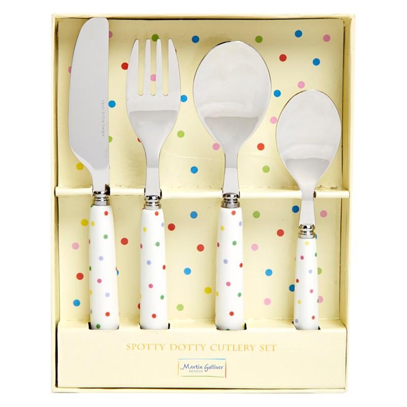 Martin Gulliver Spot Cutlery Set