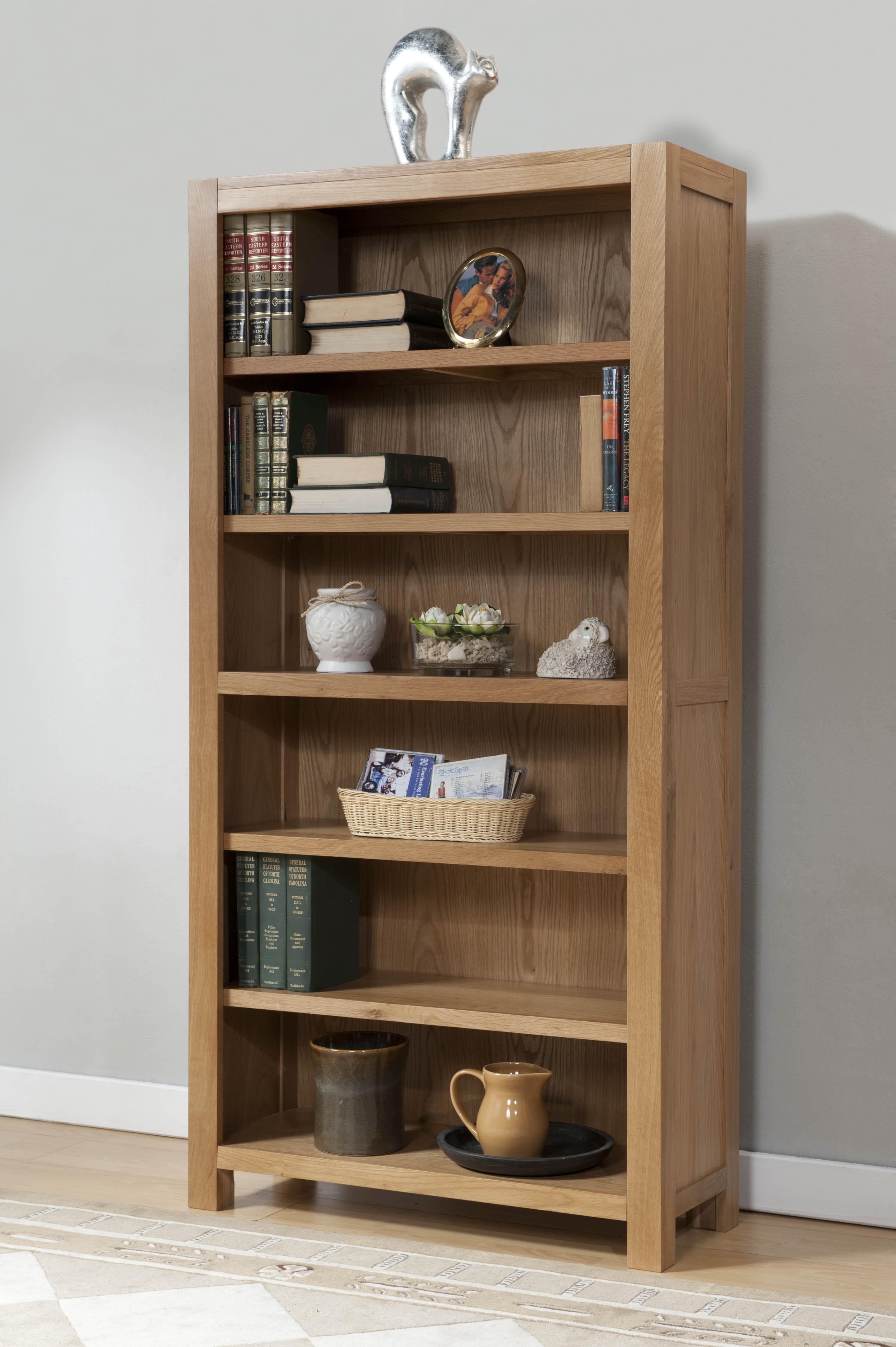 Milano Oak 6ft Bookcase (Milano Oak 6ft Bookcase)