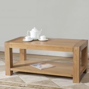 Milano Oak Coffee Table with shelf (Milano Oak Coffee Table with shelf)