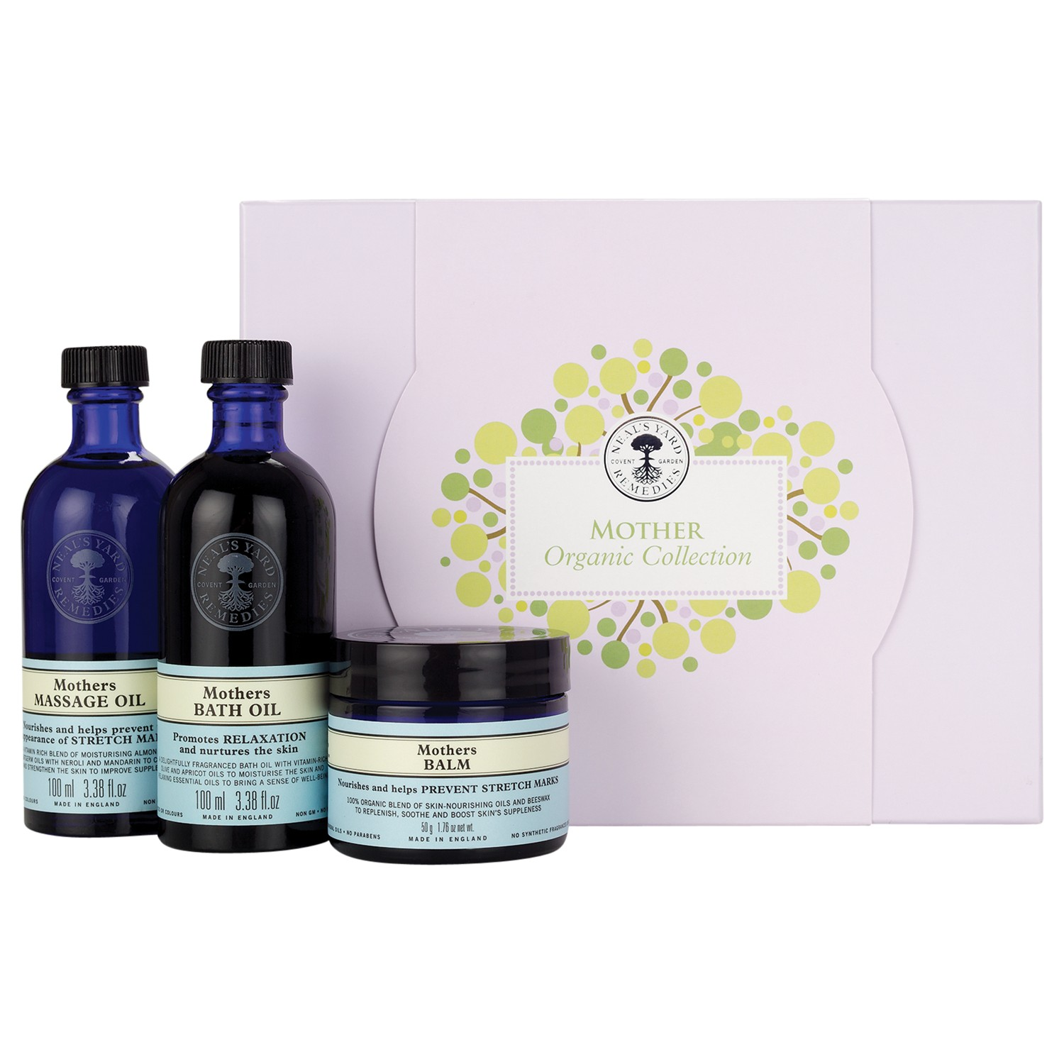 Neal's Yard Mother's Organic Collection Gift Set
