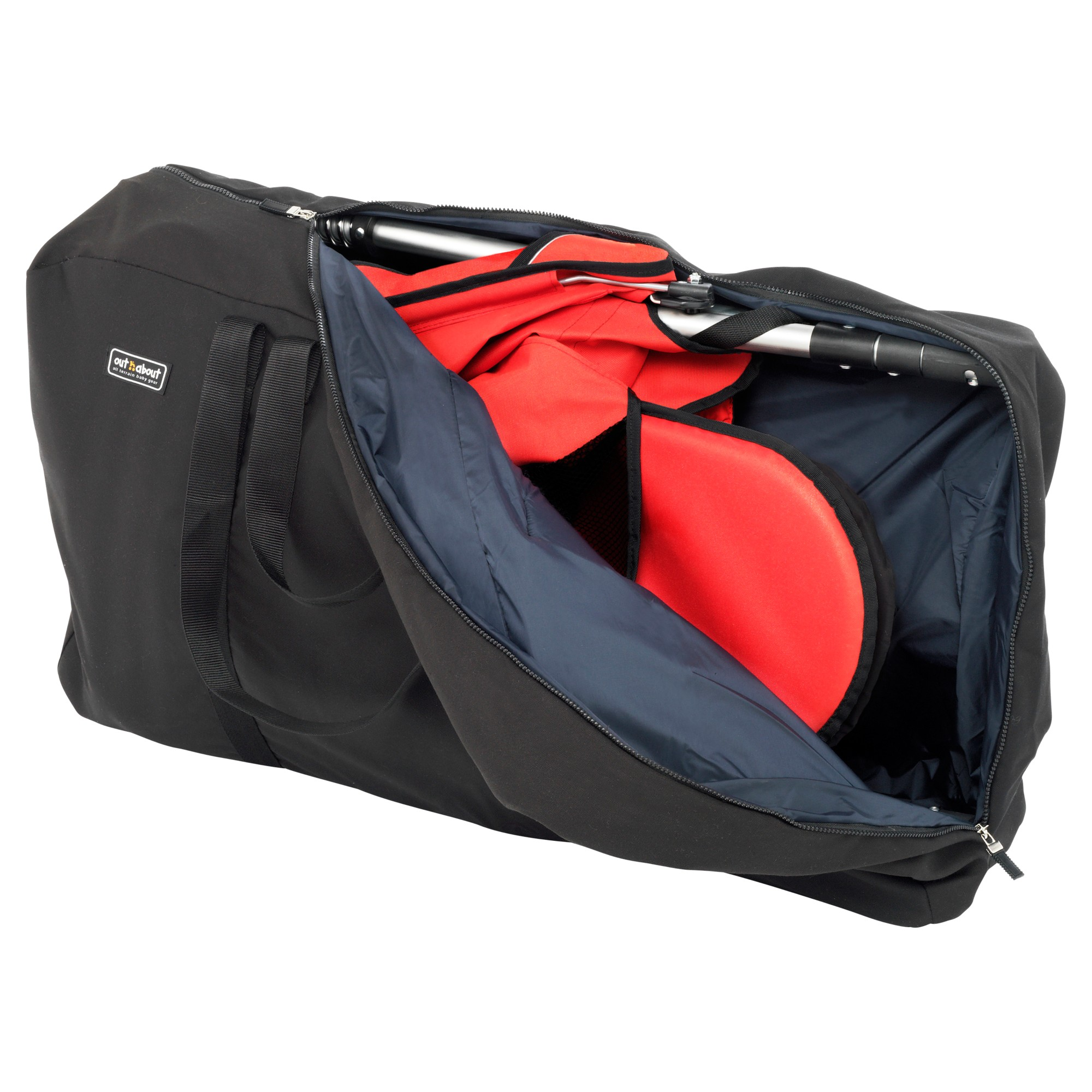 Out 'N' About Nipper Double Travel Bag