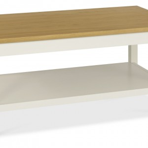Shaker Two Tone Coffee Table with Shelf (Cof Table S)
