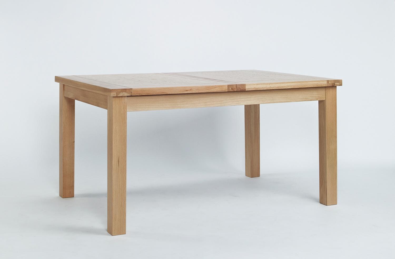 Sherwood Oak Large Extending Dining Table - 1320-1980mm
