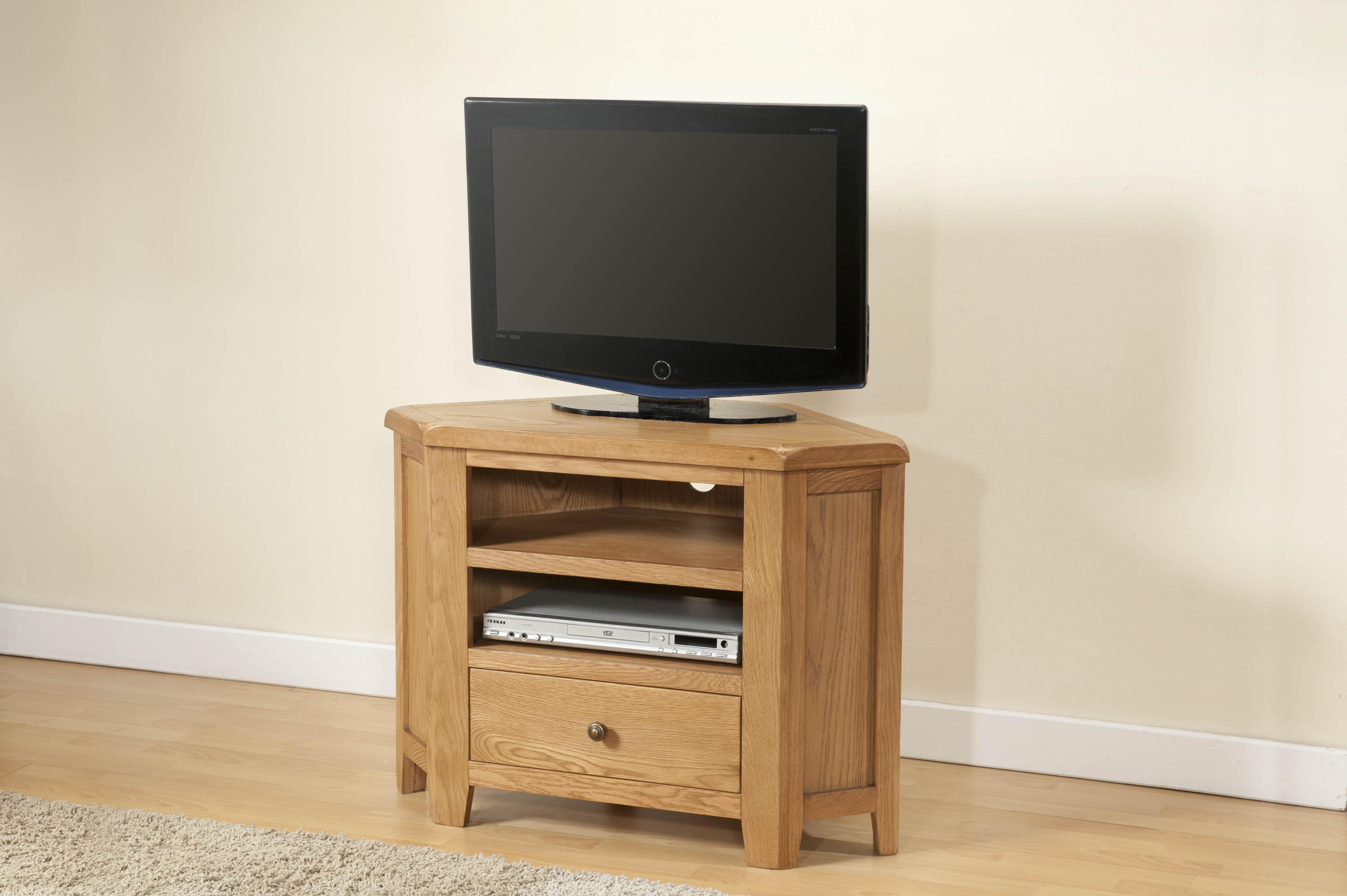 Shrewsbury Oak Corner TV Unit
