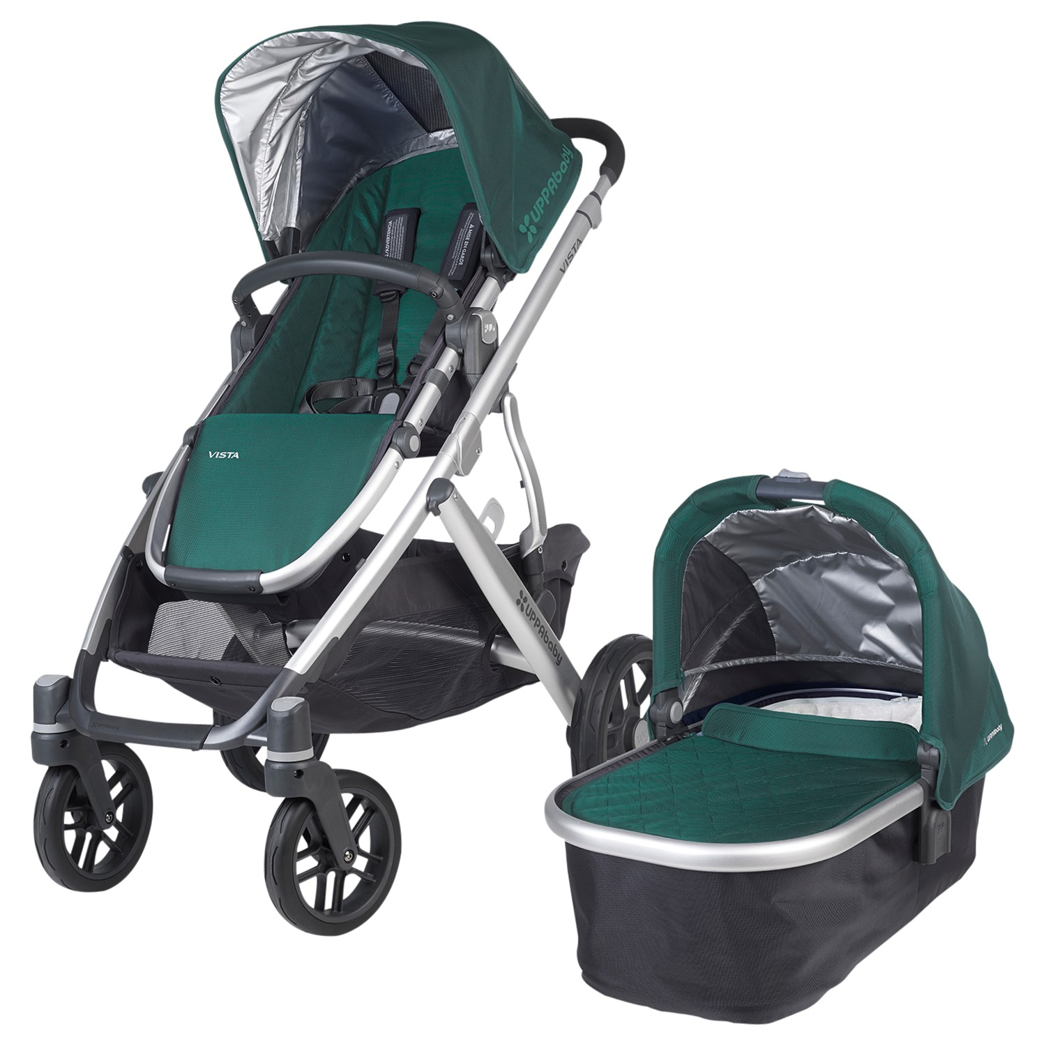 Uppababy Vista 2015 Pushchair and Carrycot