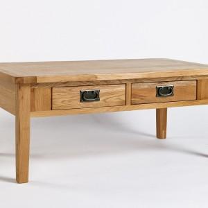 Westbury Reclaimed Oak 4 Drawer Coffee Table
