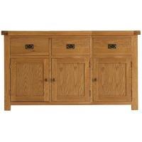 Alton Oak 3 Door Sideboard