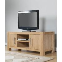 Milano Oak 2 Door TV Cabinet (Milano Oak TV Chest 2 Doors)