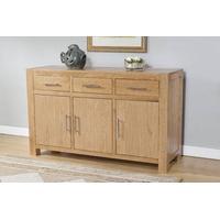 Milano Oak Sideboard 3 drawers and 3 doors (Milano Oak Sideboard 3 Drawers and 3 Doors)